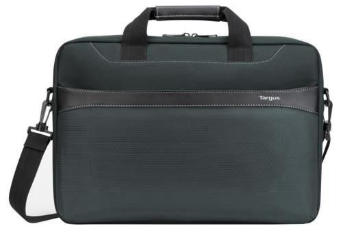 sacoche de transport pour notebook et laptop 17pouces targus geolite couleur vert tartan