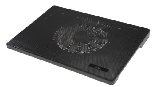 tablette de ventilation en metal pour ordinateur portable notebook jusqu'à 15 pouces bluestork cooler max