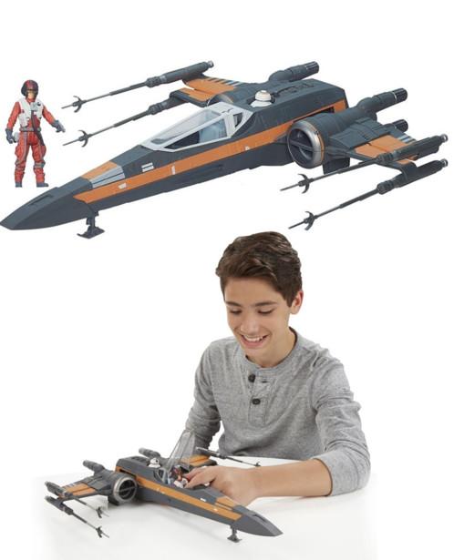 Vaisseau Star Wars X-Wing 40 cm de Poe Dameron