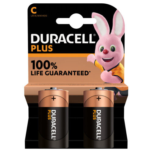 acheter duracell piles lr14 type c lot de 2 moins cher. Black Bedroom Furniture Sets. Home Design Ideas
