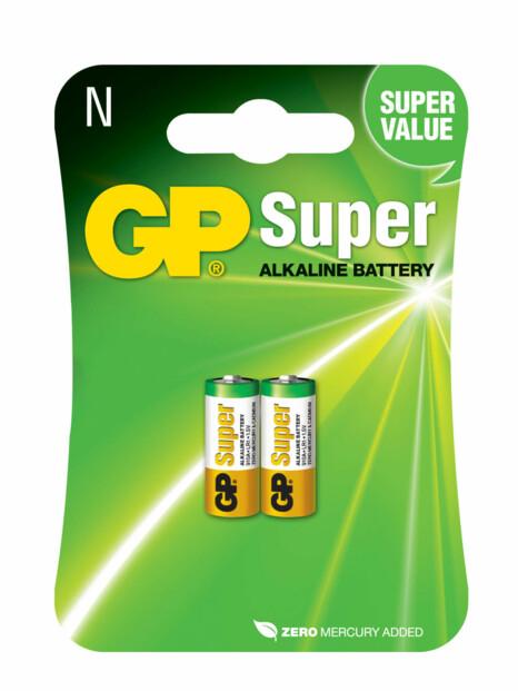 Piles LR1 type N Super Alkaline x2