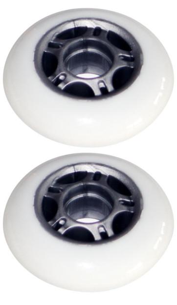 2 Roulettes pour Waveboard < 65 Kg