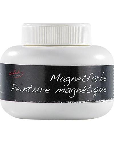 Peinture magnétique gris clair - 200 Ml