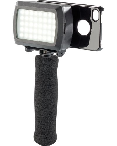 Support photo pour iPhone avec éclairage LED