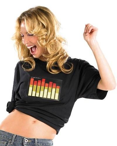 T-Shirt égaliseur 8 canaux - taille S
