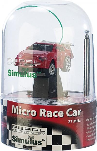 Voiturette téléguidée rouge ''Micro Race Car'' 27 Mhz