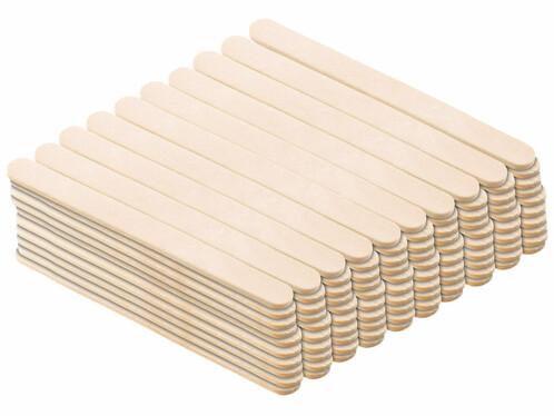 100 bâtonnets en bois pour moule à glace