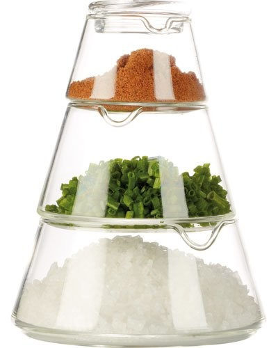 Bocaux pyramides en verre