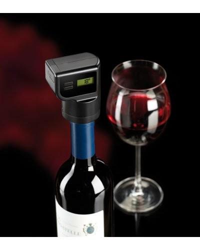 achat vente bouchon vide air lectrique pour bouteille de vin deluxe. Black Bedroom Furniture Sets. Home Design Ideas