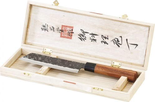 Couteau à viande avec manche en bois
