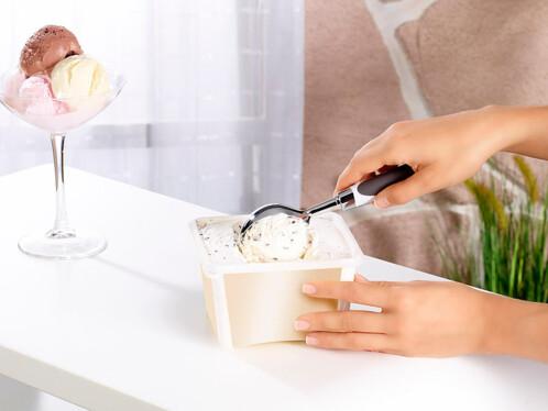 Cuillère à glace avec poignée ergonomique