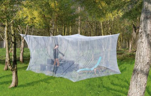 Moustiquaire à suspendre pour intérieur et extérieur - 300 x 500 x 250 cm