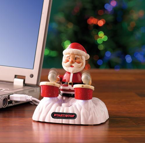 Père Noël tambour USB