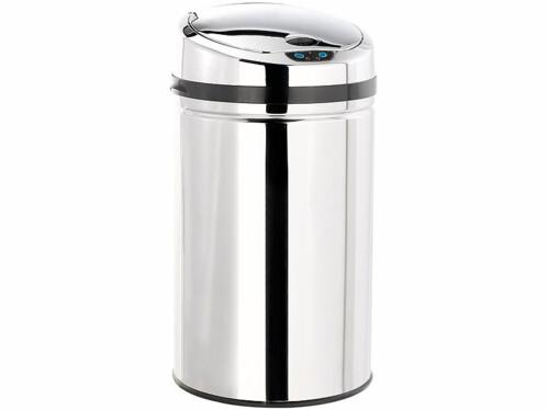 Achat vente poubelle automatique 30 l for Habitat poubelle cuisine