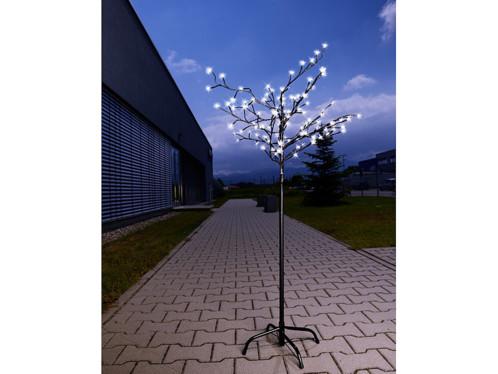 Avec Solaire Lunartec Cm 120 150 Arbre Fleurs Led Lumineux hQrtCxsd
