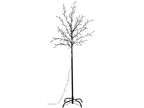 arbre factice étanche avec branches lumineuses avec alimentation solaire
