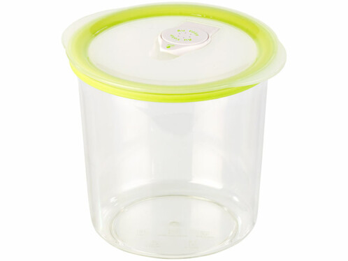 Boîte ronde pour mise sous vide -1 L