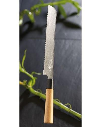 Couteau à pain en Damas - 22,5 cm