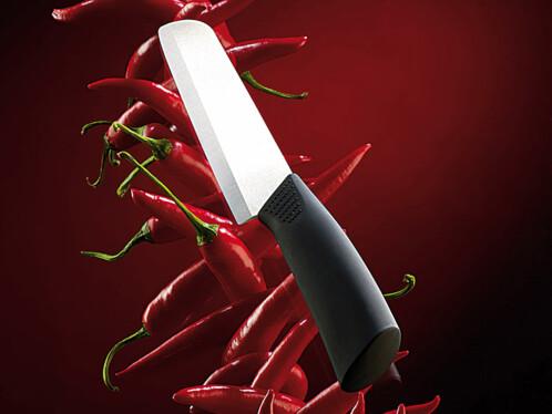 Couteau cuisine professionnel en céramique - lame 15 cm