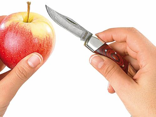 Couteau de poche en acier Damas 37 couches