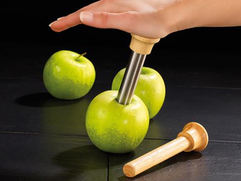 Couteau vide-pomme en inox