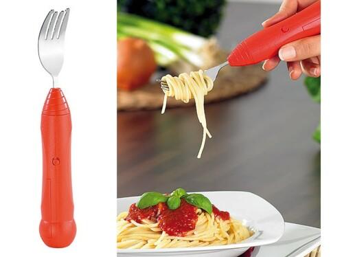 Fourchette à spaghetti automatique avec système rotatif