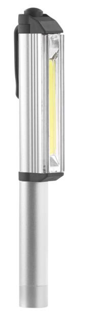 lampe de poche led cob format style à bille etanche avec aimant de fixation