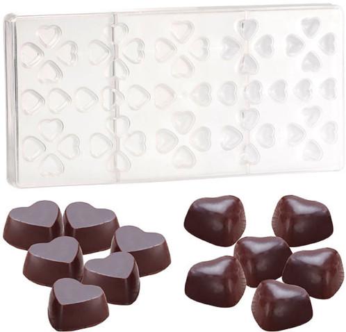 Moule à chocolat - ''Petits Coeurs''