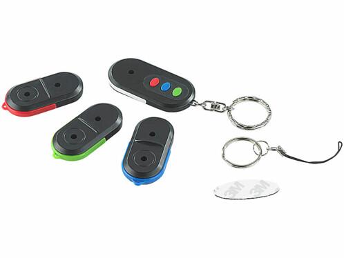 Porte-clés siffleur pour jusqu'à 3 trousseaux