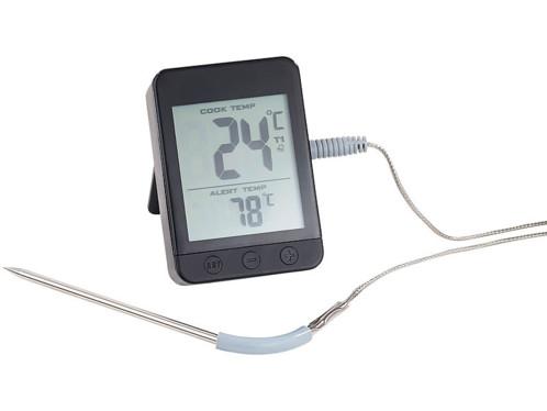 Thermom tre de cuisson digital avec bluetooth et - Thermometre de cuisson boulanger ...