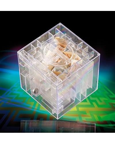 Tirelire Labyrinthe 3D