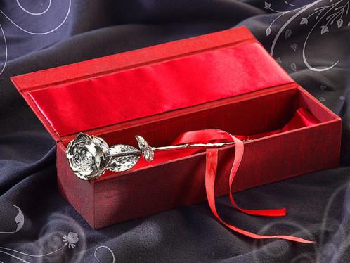 Beau design meilleurs prix haut fonctionnaire Rose éternelle - Argentée à l'argent 999/1000 St. Leonhard