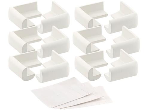 12 protège-coins en mousse pour tables et armoires