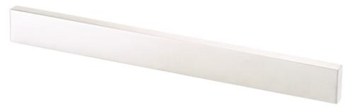 barre magnétique pour couteaux tournevis outils en métal design acier brossé longueur 45cm