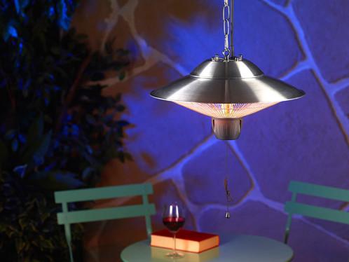 lampe chauffante suspendre pour ext rieur intensit. Black Bedroom Furniture Sets. Home Design Ideas