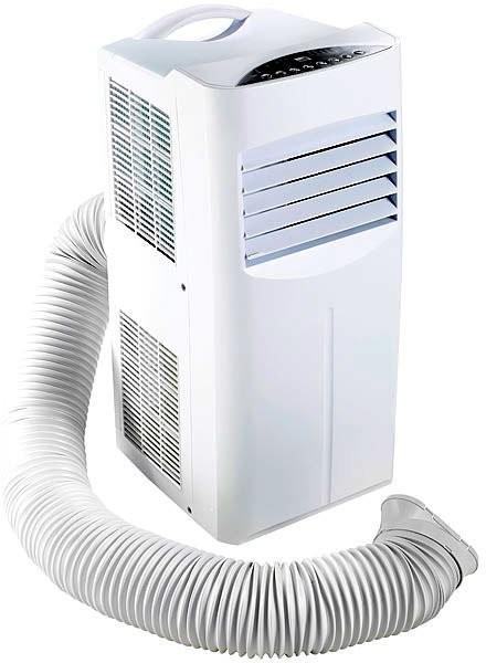 Climatiseur mobile réversible 2050 W / 7000 BTU/h