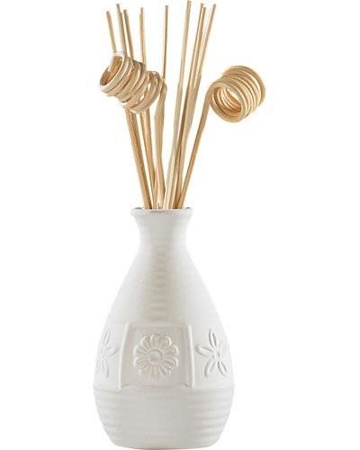 diffuseur de parfum en c ramique avec 12 b tonnets parfum s. Black Bedroom Furniture Sets. Home Design Ideas