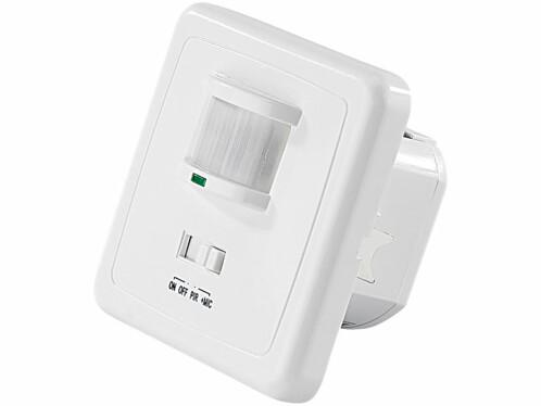 Interrupteur avec détecteur de mouvement et capteur acoustique