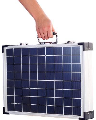 acheter panneau solaire pliable 39 pho 4000 39 40 w. Black Bedroom Furniture Sets. Home Design Ideas