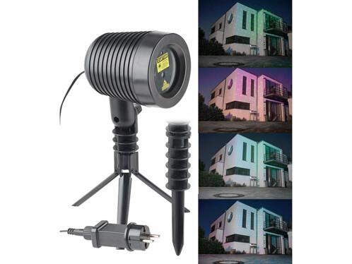 Projecteur laser rouge et vert d'extérieur effet pluie d'étoiles
