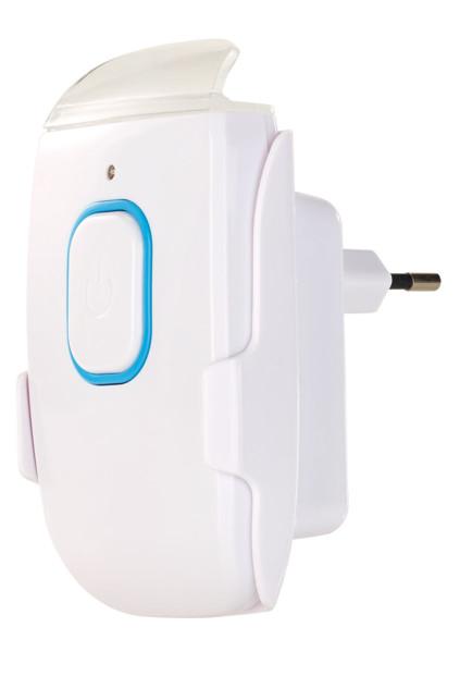 mini veilleuse led sur prise avec balise de sécurité coupure de coulant et mini lampe de poche a detecteur rechargement induction