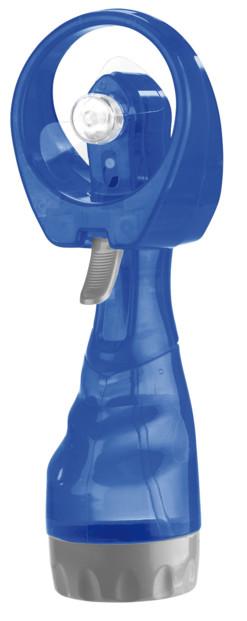 mini ventilateur de poche avec mode vaporisateur brumisateur intégré infactory bleu