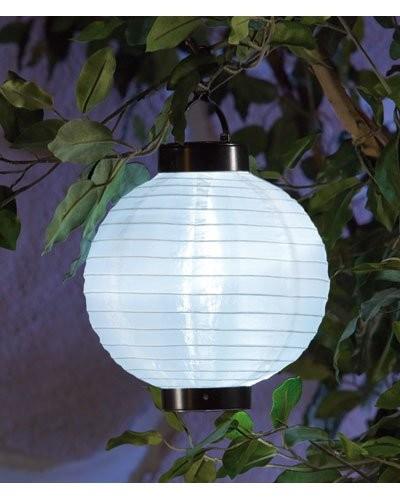 2 Lampions à LED solaires