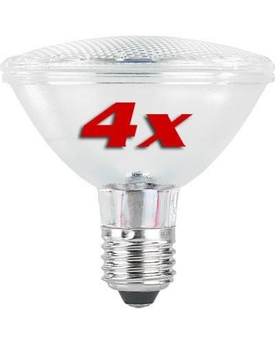 achat vente 4 ampoules par30 30 led smd e27 blanc froid. Black Bedroom Furniture Sets. Home Design Ideas