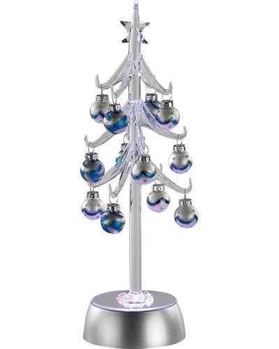 Arbre à LED en verre à jeux de lumières