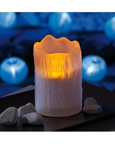 Bougie Led Solaire ''Melting Candle''