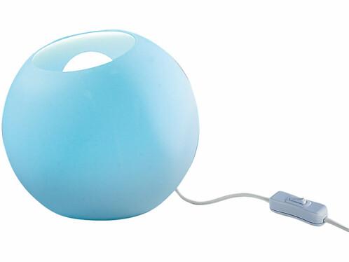 Boule à LED multicolore avec télécommande