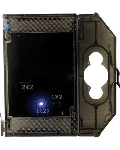 Caractère spécial lumineux à LED - '' . '' bleu