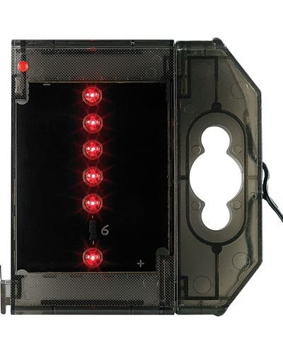 Caractère spécial lumineux à LED - '' ! '' rouge