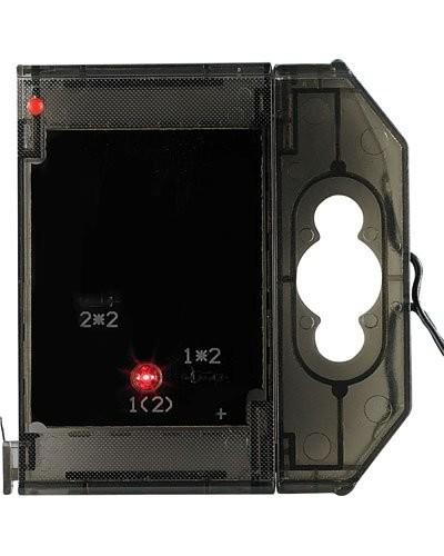 Caractère spécial lumineux à LED - '' . '' rouge